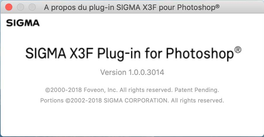 Sigma plugin photoshop