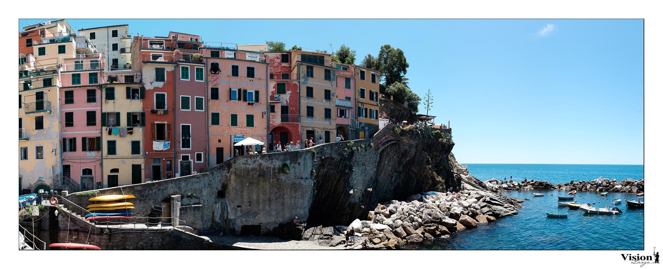 Ligurie, Italie, Riomaggiore, 5 terres