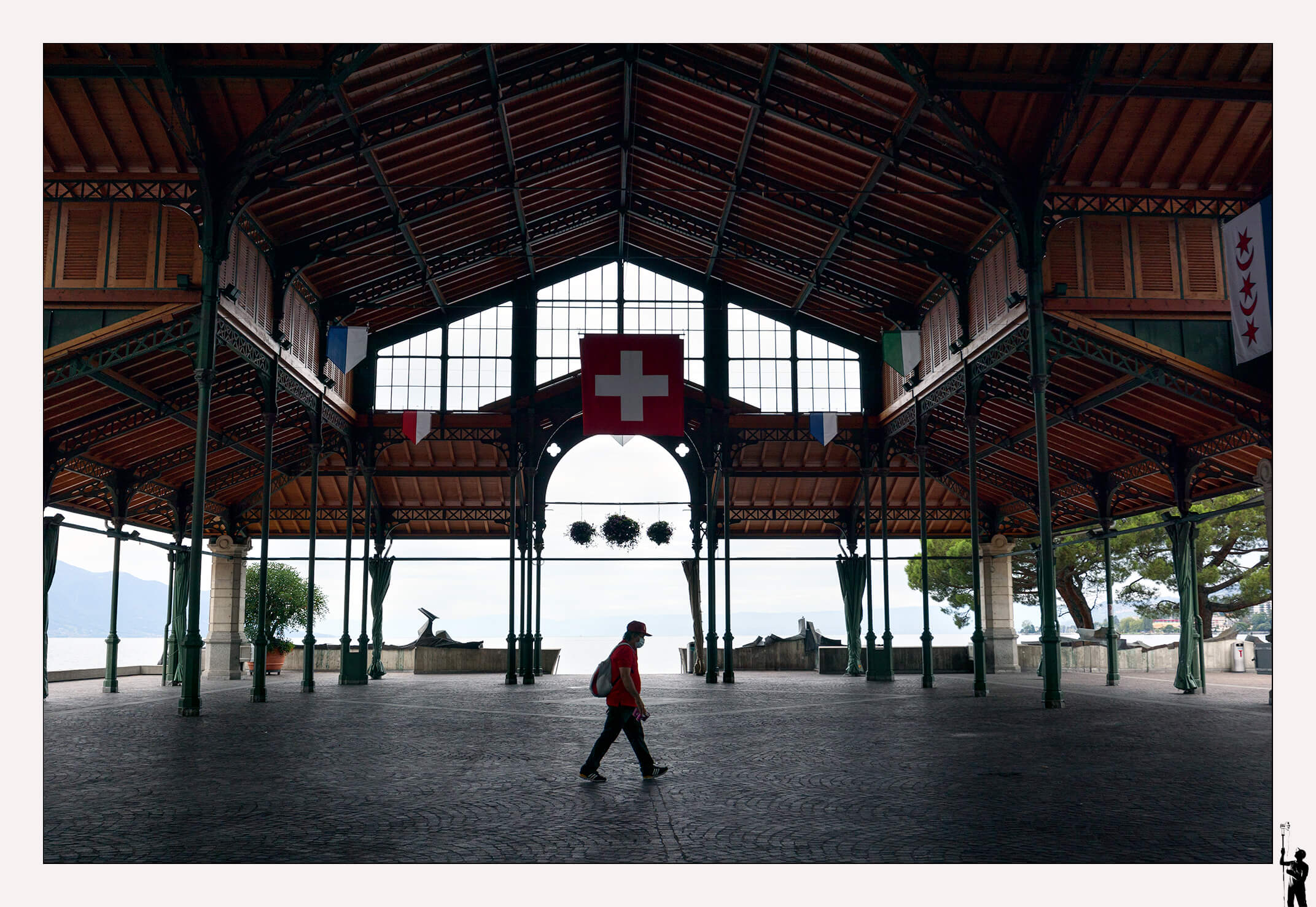 Place du marché de Montreux